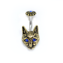 Load image into Gallery viewer, Cat Belly Ring