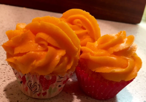 Orange Cream Bath Bomb Cupcake