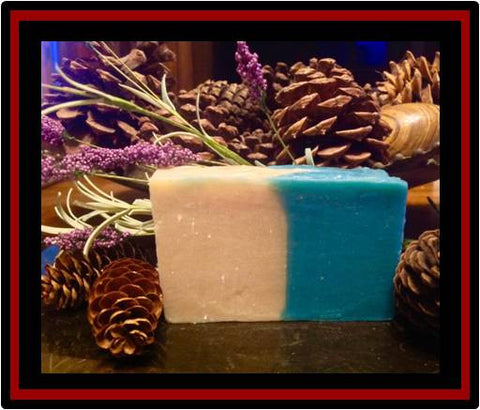 Minty Gardenia Luxury Soap