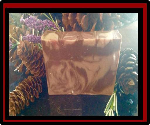 Cedar and Saffron Luxury Soap