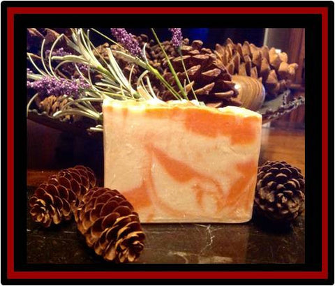 Orange Cream Luxury Soap