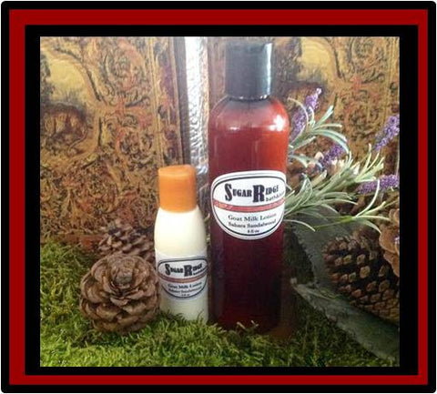 Sahara Sandalwood Natural Lotion