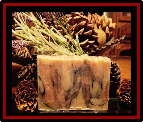 Frankincense and Myrrh Luxury Soap