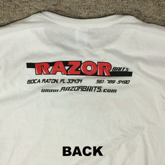 RAZOR BAITS Logo Light Weight SS fishing shirt