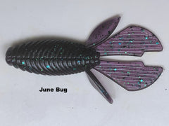 "4.25"" Mud Bug 6 pk       RAZOR BAITS Custom Design"