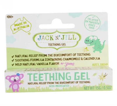 Natural Jack N' Jill Teething Gel - latootha.com