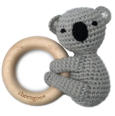 LittleCuddlers Koala Teething Rattle - latootha.com