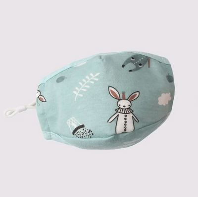 Kid's Cotton Face Mask With Filter Pocket- Hippity Hop - latootha.com
