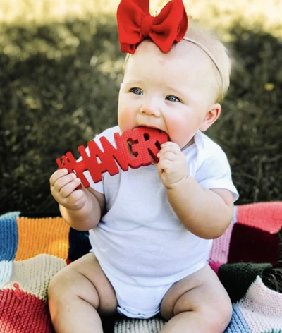 #HANGRY TeetheWords Teether (Red or Mint) - latootha.com