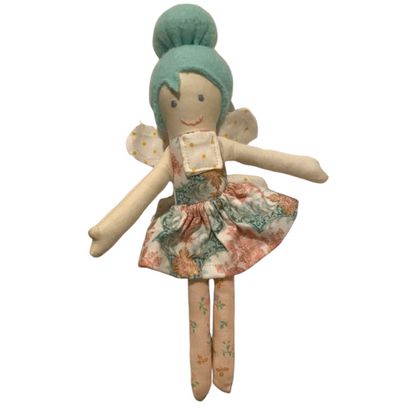 Teal Hair Tooth Fairy Doll - Latootha