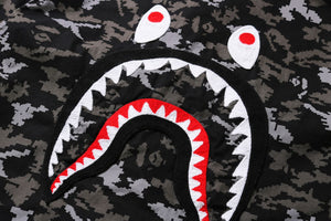 Digital Camo Shark Military Relaxed Shirt