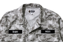 Load image into Gallery viewer, Digital Camo Shark Military Relaxed Shirt