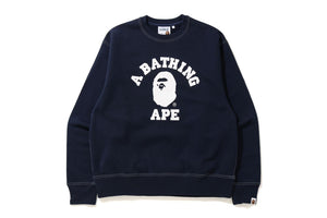 Relaxed Classic College Crewneck M