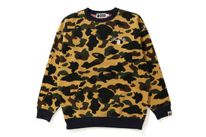 1st Camo Oversized Crewneck Ladies