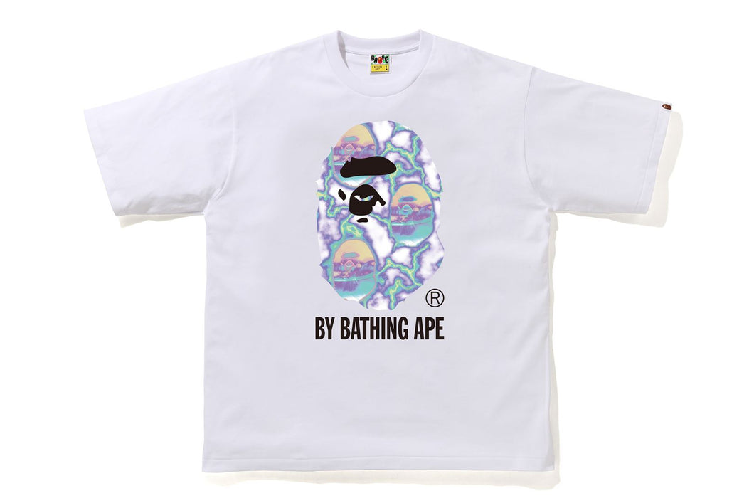 Bape Lightning By Bathing Rlx Tee M