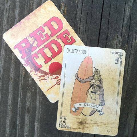 Red Tide Collector's Cards - Complete Set