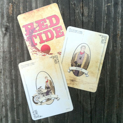 Edge Collector's Cards - Red Tide First Edition (Limited)