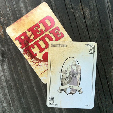 Jack Collector's Card - Red Tide First Edition (Limited)
