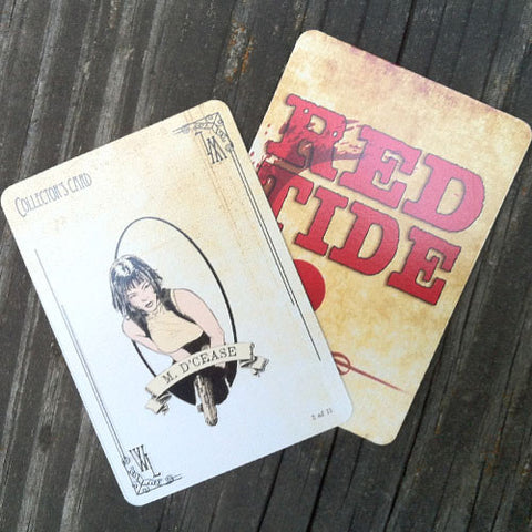 M. d'Cease Collector's Card - Red Tide First Edition (Limited)
