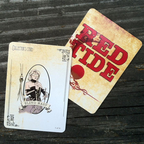 Blind Mary Collector's Card - Red Tide First Edition (Limited)