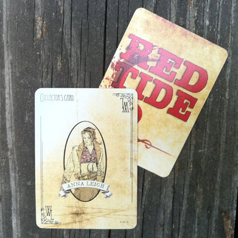 Anna Leigh Collector's Card - Red Tide First Edition (Limited)