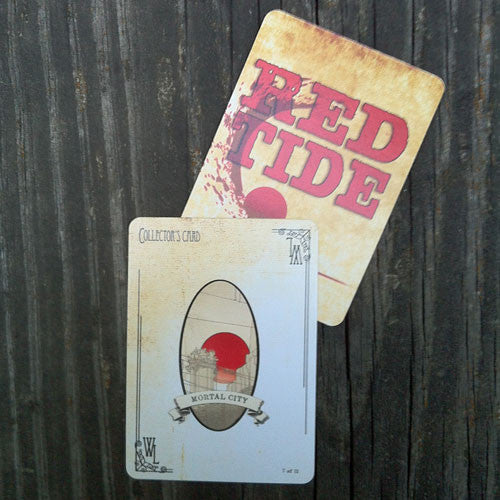 Mortal City Collector's Card - Red Tide First Edition (Limited)