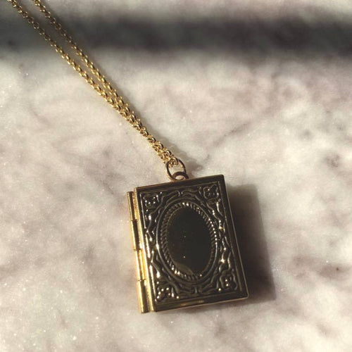 Story Love Locket Necklace - By Ferne