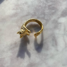 Load image into Gallery viewer, The Golden Feline Ring - By Ferne