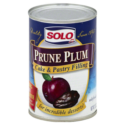 Solo  Filling Prune, 12OZ.