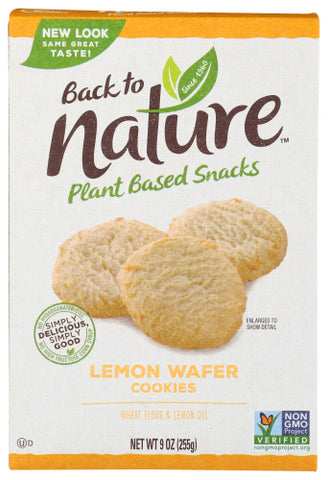 Back To Nature  Cookie Lmn Cal If, 9OZ.