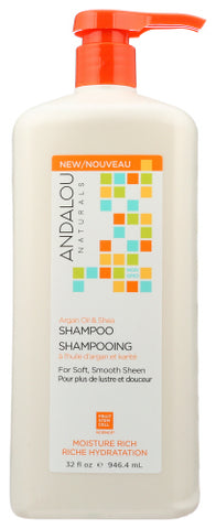 SHAMPOO ARGAN OIL SHEA