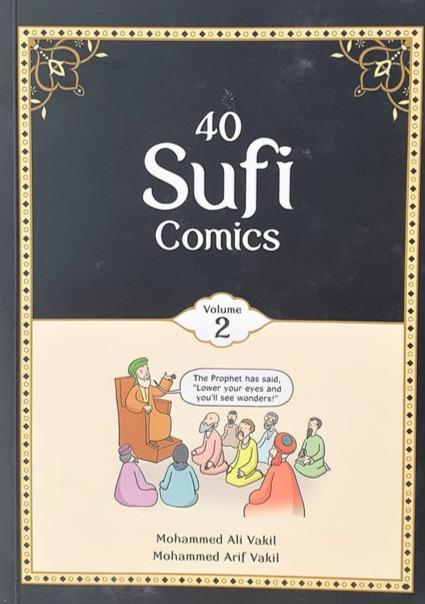 40 Sufi Comics Vol 2-al-Burāq