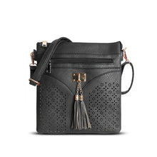 Load image into Gallery viewer, DC - Cross Body Bag - Black - 1113W