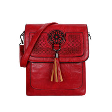 Load image into Gallery viewer, LYDC - Cross Body Bag - Red - 1204W0