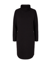 Load image into Gallery viewer, Freequent – Java Roll Neck Dress – Black - java-dr