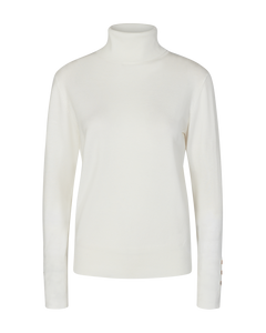 Freequent – Katie Button Roll Top – Off-White - katie-pu