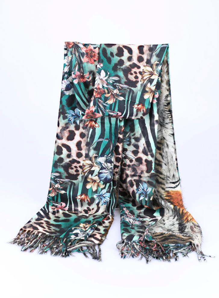 One More Fashion - Scarf - Green - YS2567