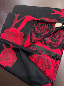 One More Fashion - Scarf - Red - YS2697