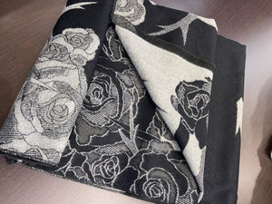 One More Fashion - Scarf - Black - YS2697