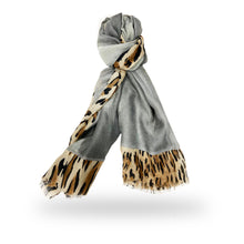 Load image into Gallery viewer, Lipstick – Scarf  – Grey – YS-2801