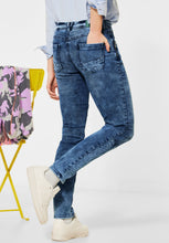 Load image into Gallery viewer, Cecil – Jeans 30 Leg – Medium Blue Denim - 373907