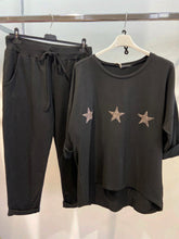 Load image into Gallery viewer, Lipstick –Tracksuit - Black - 10616TS