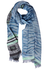 Load image into Gallery viewer, Cecil – Scarf – Blue - 571495