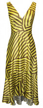 Load image into Gallery viewer, Arggido – Stripe Dress - Yellow - 43534