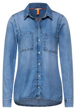Load image into Gallery viewer, Street One – Denim Shirt – Blue - 342491