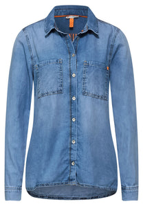 Street One – Denim Shirt – Blue - 342491
