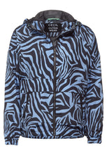 Load image into Gallery viewer, Cecil – Zebra Jacket – Blue - 201572
