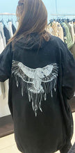 Load image into Gallery viewer, Miss Style – Wings Jacket - Black - 80053