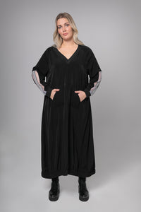 MAT – Dress – Black - 7041