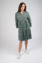 Load image into Gallery viewer, Leopard Tunic with Frill End 6028